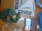 Três pessoas são detidas por tráfico de drogas e desacato em MG
