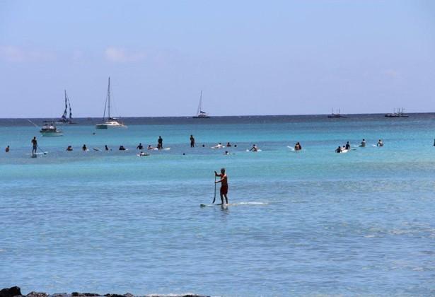 Confira imagens do Havaí (Foto: Caldeirão do Huck/ TV Globo)