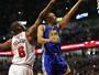 Warriors sofrem sem Durant, perdem jogo para os Bulls e sequência recorde