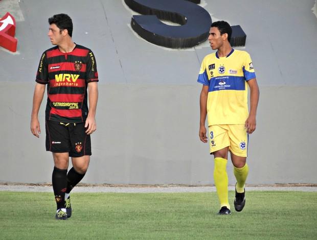 Sport x Boca Júnior - Felipe Menezes (Foto: Elton de Castro)