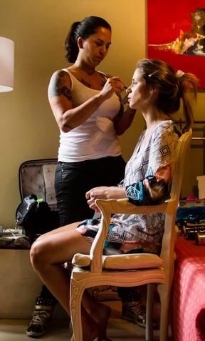 Making OF - Angela Sousa (Foto: Fernando Lemos/ Paparazzo)