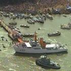 'Círio das águas' reúne 500 barcos (Reprodução/TV Liberal)