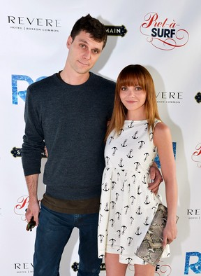 Christina Ricci e James Heerdegen (Foto: Getty Images)