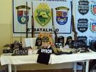 Cinco pessoas são presas durante operação policial no noroeste do PR