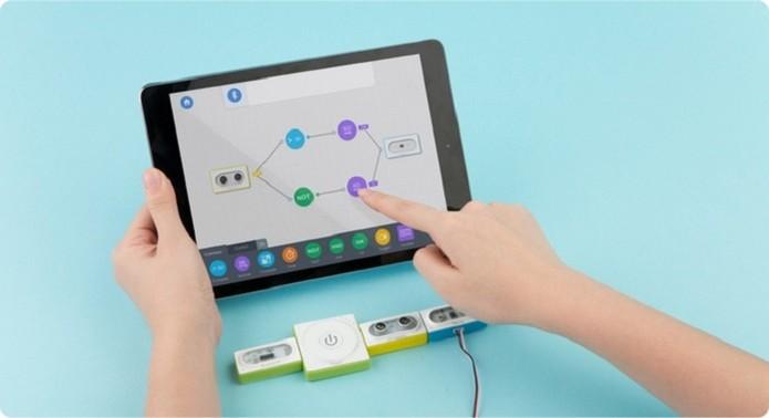 Neuron permite criar qualquer gadget com blocos e peças de LEGO (Foto: Divulgação/Makeblock)