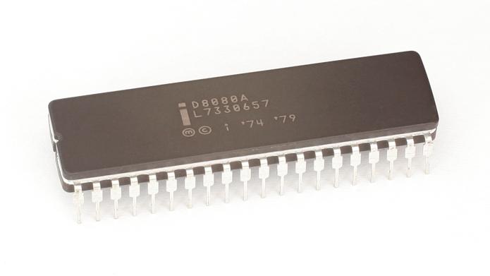 O 8080 e, em especial, o 8086, foram decisivos na popularização do computador (Foto: Reprodução/Wikimedia)