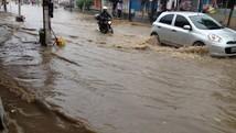 Vitória de Santo Antão teve chuva esperada para 19 dias (Romário Cavalcanti/WhatsApp)