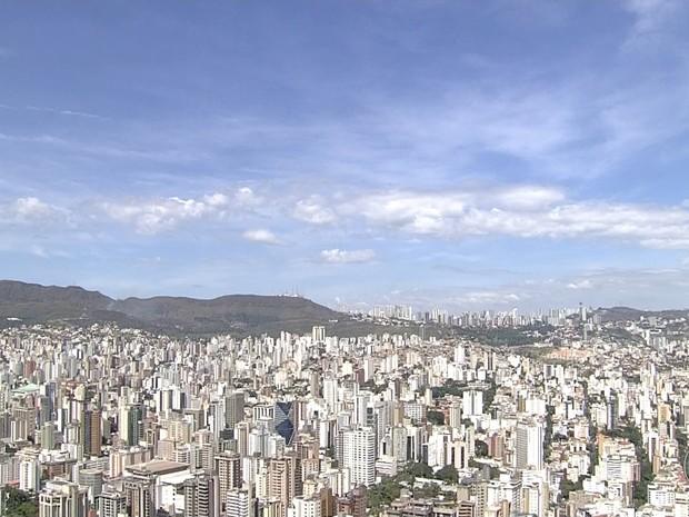 Frente fria deve alterar tempo em Belo Horizonte (Foto: Reprodução/TV Globo)