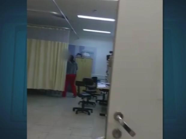 Vídeo mostra agressões em Paulínia, SP (Foto: Reprodução/ EPTV)