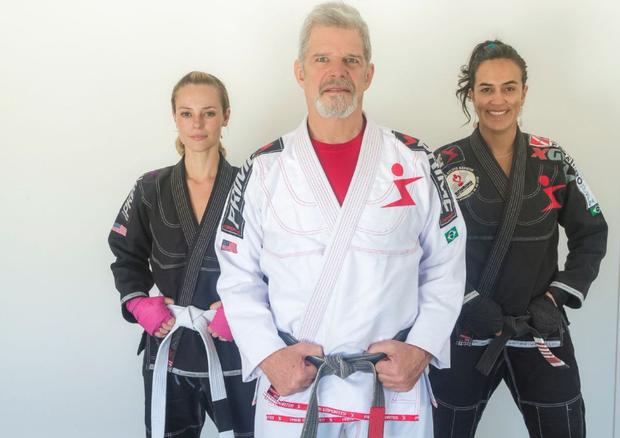 Paolla Oliveira, Raul Gazolla e Erica Paes (Foto: Reprodução / Twitter)
