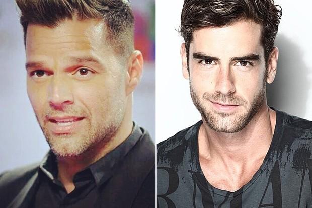 Ricky Martin e Marcos Pitombo (Foto: Instagram / Reprodução)