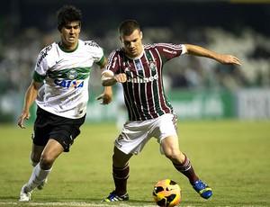Wagner jogo Coritiba Fluminense (Foto: Photocamera)