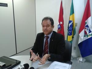 Promotor Marcos Mousinho pede que julgamento seja anulado. (Foto: Carolina Sanches/ G1)