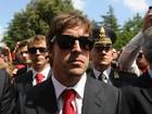 Em tributo em Ímola, Alonso e Raikkonen exaltam brasileiro (AFP)