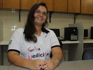 Jane de Oliveira, professora de Sociologia (Foto: Patrícia Andrade/G1)
