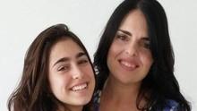 'Fiquei bem mais nervosa do que ela', conta a mãe de Vicky Valentim (Alexandra Garnier/ Arquivo Pessoal)