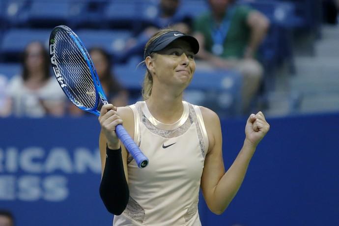 Maria Sharapova US Open (Foto: EDUARDO MUNOZ ALVAREZ / AFP)