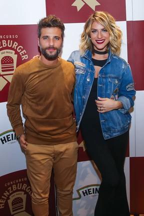 Bruno Gagliasso e Giovanna Ewbank em evento em São Paulo (Foto: Manuela Scarpa/ Brazil News)