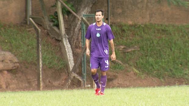 Thiago Gentil, meia-atacante do Guarani (Foto: Reprodução EPTV)