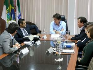 Reunião aconteceu nesta quinta-feira em Natal (Foto: Demis Roussos/Assecom)