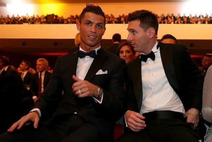Messi Cristiano Ronaldo Bola de Ouro (Foto: Reprodução)