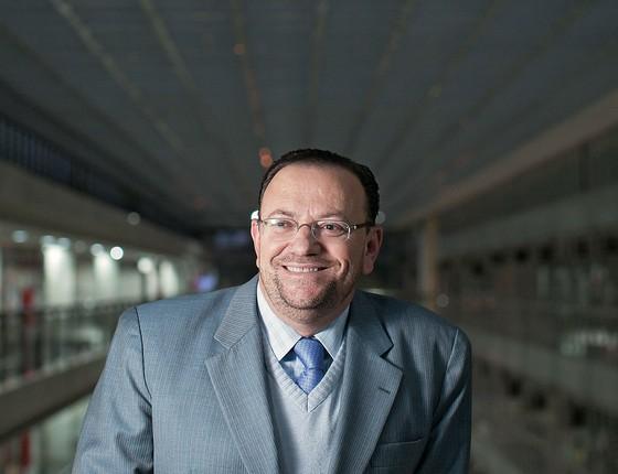 Deputado Edinho Silva, presidente do PT-SP (Foto: Letícia Moreira/ÉPOCA)