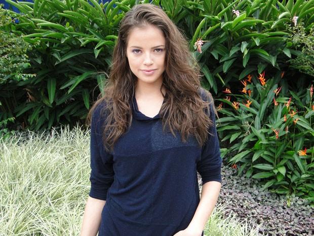 Agatha Moreira trabalhou como modelo antes do papel em Malhação (Foto: Malhação / Tv Globo)