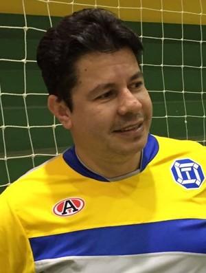 Flavinho Cavalcante, técnico do futsal de Dracena (Foto: Ronaldo Nascimento / GloboEsporte.com)