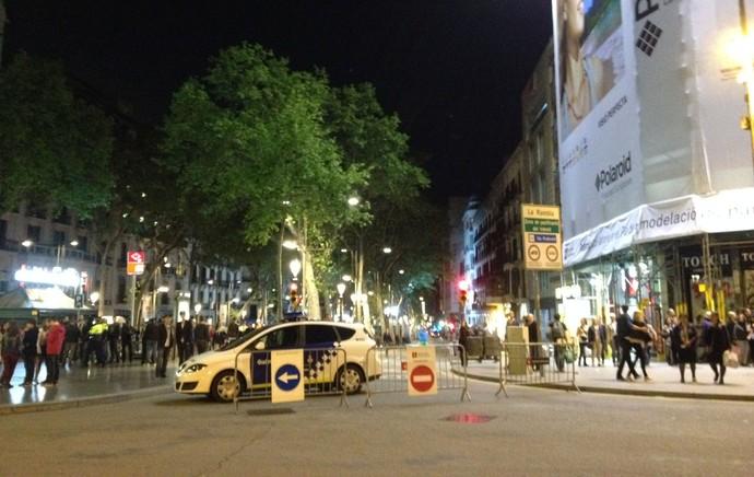 Ambiente Barcelona (Foto: Cassio Barco)