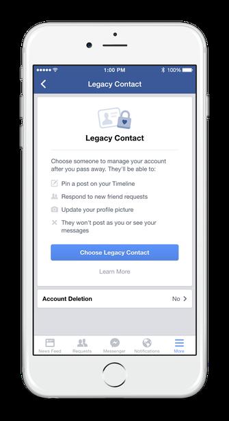 Legacy Contact permite cadastrar um amigo para cuidar do seu perfil em caso de morte (Foto: Divulgação/Facebook)
