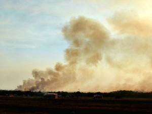 Em agosto, Corpo de Bombeiros registrou 56 focos de calor em Vilhena, RO (Foto: Lauane Sena/G1)