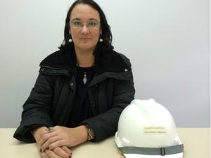 Cláudia Kleestadt é chefe de Camilo na Preconcretos (Foto: Caetanno Freitas/G1)