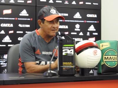 Muricy Ramalho Flamengo coletiva (Foto: Fred Gomes)