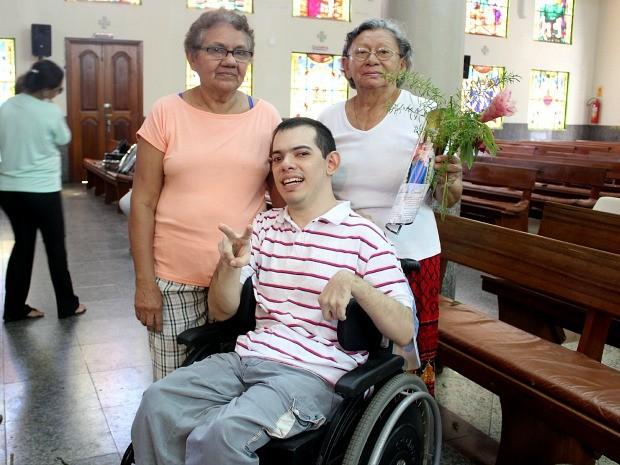 André sempre faz questão de comparecer ao festejo (Foto: Jamile Alves/G1 AM)