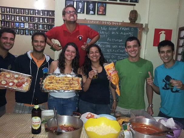 República de estudantes Unidos por Acaso, em Ouro Preto - Dia a dia (Foto: Divulgação)