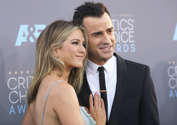 Jennifer Aniston e Justin Theroux (Foto: Mark Davis/Getty Images)