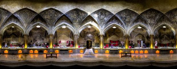 Banho público antigo de Vakil, no Irã (Foto: Mohammad Reza Domiri Ganji/Arquivo pessoal)