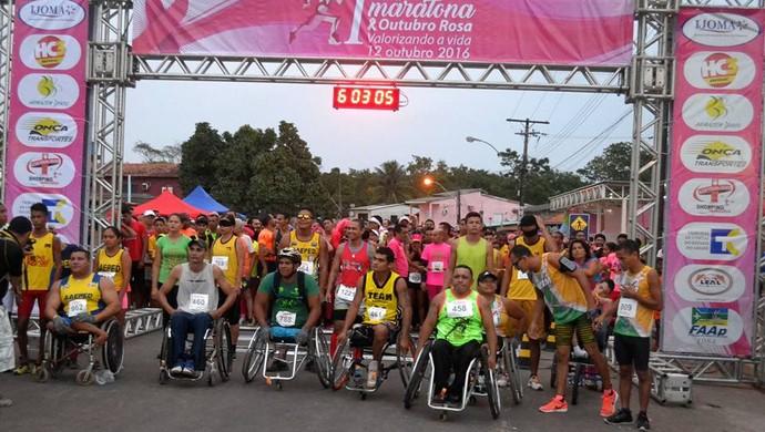Corrida de rua; Amapá (Foto: Rosivaldo Nascimento/Arquivo Pessoal)