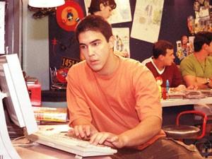 André Marques como Mocotó em temporadas passadas (Foto: Malhação / Tv Globo)