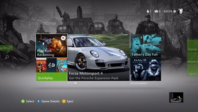 Baixe os temas grátis de Gears of War no Xbox 360 (Foto: Reprodução/Youtube)