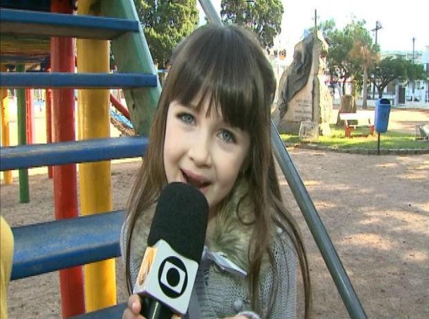 Luísa Bastos (Foto: Reprodução/RBS TV)