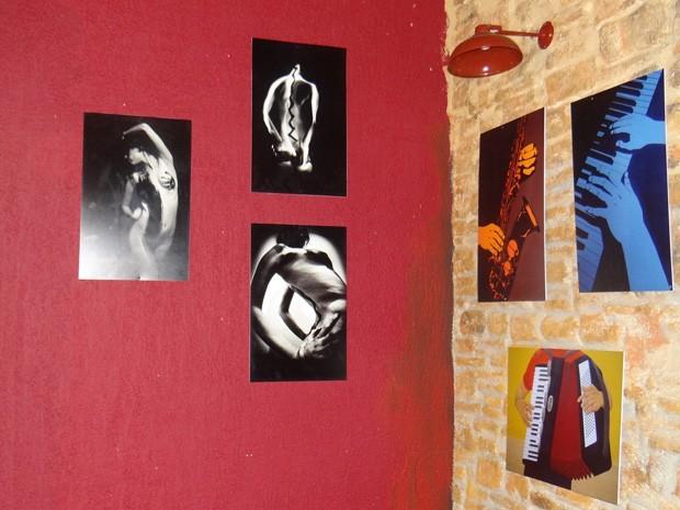 A exposição com as obras escolhidas pelo site do Galpão é um sucesso (Foto: Divulgação/Galpão Cultural)