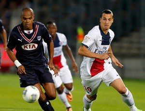 henrique ibrahimovic bordeaux x paris saint germain (Foto: Reuters)