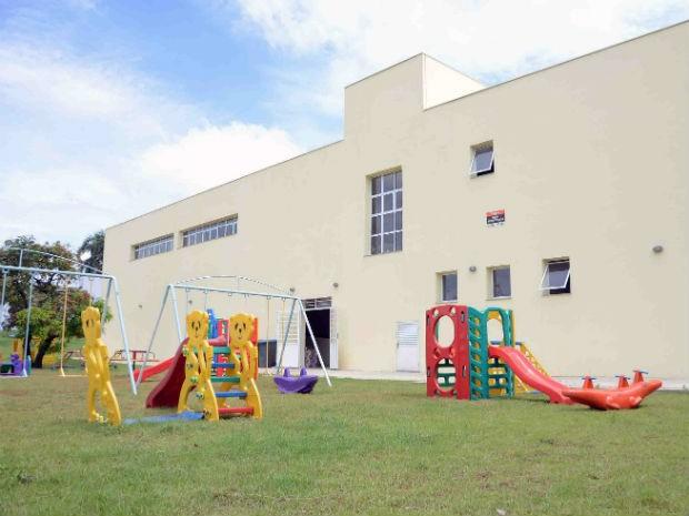 Novo prédio tem estrutura completa para receber quase 300 alunos (Foto: Emerson Ferraz)