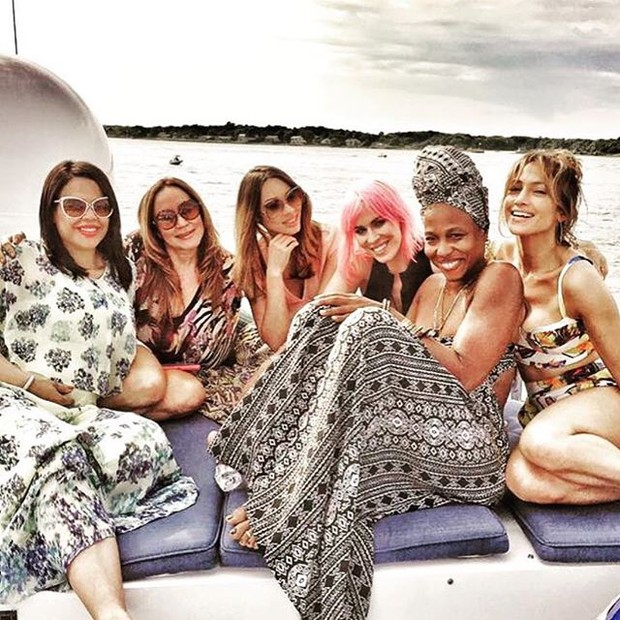 Jennifer Lopez comemora aniversário com amigos (Foto: Instagram/ Reprodução)