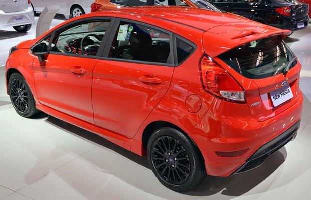Ford New Fiesta Sport no salão em SP