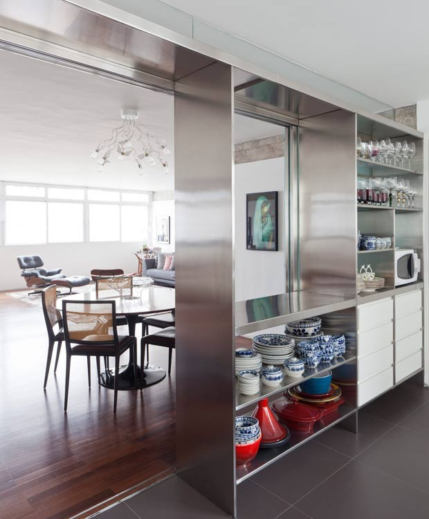 cozinha-bancada-pia-organizacao-integracao (Foto: Maíra Acayaba/Editora Globo)