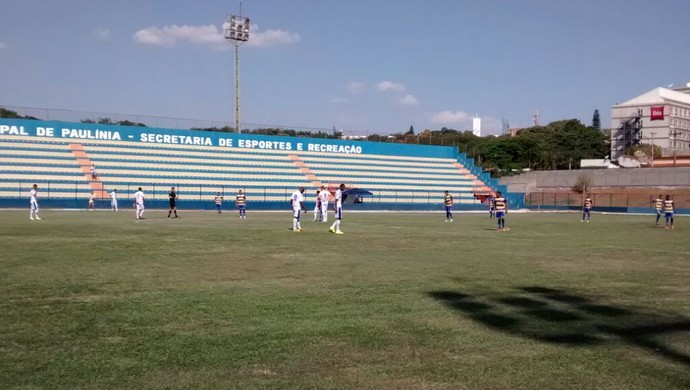 Paulínia x Grêmio Prudente - Campeonato Paulista da Segunda Divisão (Foto: Emmanuel Gasqui / Cedida)