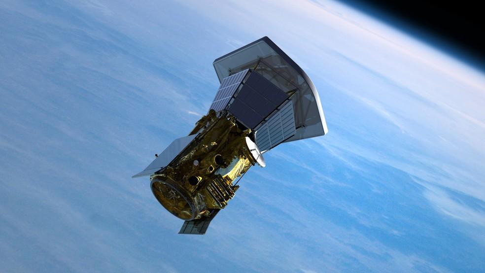Ilustração mostra como será lançamento da Solar Probe Plus, que está previsto para ocorrer entre 31 de julho e 19 de agosto de 2018  (Foto: JHU/APL)