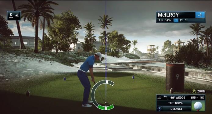 Rory McIlroy PGA Tour tem cenários deslumbrantes (Foto: Divulgação/EA Sports)